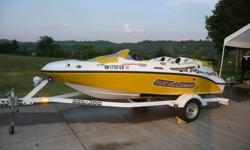 2004 Sea Doo Sportster 4-tec Jet Boat. I am not a dealer. I own this boat and have personally used it and maintained it.I am a mechanical engineer who is detailed and particular.I am selling it because I recently bought a Ski Nautique for my wife to water