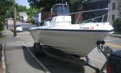 "2001 Triumph 210CC(formerly Logic) 20'5"" Hull (manufactured 2000) with 2003 Yamaha 200 HP HPDI motor with 800 hours, Logic became Triumph boats in 2002. Boat is in good condition. This is an awesome motor and has plenty of life left, these will easily go"