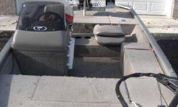 2002 Fisher Bass Boat with 2002 Mercury 40 2stroke. 16' long all aluminum welded. It has two fish finders, brand new trolling engine in spring $539.00 fulton mount for kicker motor. Power tilt and trim, direct injection so you don't have to mix the gas.