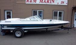 1994 Reinell 181 BR Low Profile Ski BoatLike a mouse on the water with a hole lot of power. This boat at only 18' has around 190 hp and recent upholstery work done to most of the seats. the boat needs a Buff-N-Wax but then her body will be look'en good,