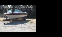 inboard/outboard motor fish finder alot of boat for the money radio trailer included Listing originally posted at http