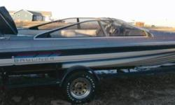 1987 Bayliner 18ft Ski Boat. 125hp outboard motor. Trailer, cover, CD player, fish finder. $3500. Combo Sale 2006 Kawasaki 12F 4 stroke Jet Ski. Cover, trailer, lift. Will only sell Jet Ski as Combo with boat and lift but will sell boat by itself. Combo