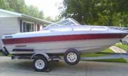 86 Rinker Boat and Trailer 19 ft, Closed bow 170 hp Mercruiser Inboard Everything works! Looks and runs great! Phone 712 584 5050 email (click to respond) Asking $3500Listing originally posted at http