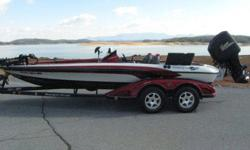 2007 Ranger Z20,Mercury PRO XS 225,120 hours on motor, just been serviced at dealer.RangerTrail Trailer all LED lights,Goodyear Marathon Tires Like New, MinnKota Maxxum Pro 80 lb Trolling Motor w/ Built in transducer,Recessed Foot Pedal, All Lowrance
