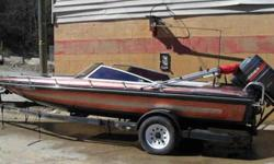 Excellent Condition. New upholstery, new gel coat, towing cover. Has an easy to remove bimini cover. Roadrunner trailer has new tires.