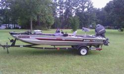 BASS TRACKER 17 ft with 40 horsepower, runs well. $3,500.00 762-333-4767 .See item listed at http