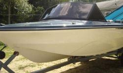 Completely restored 1969 Glastron V163 Bayflite Supersport w/ original 85 hp Johnson outboard and trailer. This boat has been in the family for many years and has never been in salt water. Many spent hours restoring last year. Solid transom. Boat floor,