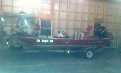 Lund 17' bass boat, fish finder live wells 75 horse Mercury outboard trolling engine ready to fish now Call 573-645-5800Listing originally posted at http