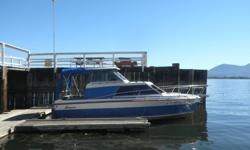 Larson Cabin Cruiser 23' 1977, Small Block Chevy, Mercruiser hardware and outdrive. Bed in the bow. Dining table, Kitchen, Bathroom, Swim platform and ladder. Room to sleep 4. Located in Lakeport, Ca at a marina. No trailer. Will trade for a pair of Quads