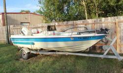 Selling great fishing boat! 16'Ready to fish, stickers are up to date. new water pump and starter installed within the last 2 mnths. oil injected Suzuki motor75 HORSEPOWERcall or text 832-205-1909 please no emailsListing originally posted at http