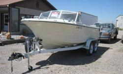 FOR SALE OR TRADE eighteen BOAT, 155 HORSEPOWER CHEVY six CID NEW RUG FROM FRONT TO REAR, NEW SEATS, A MUST SEE 208-406-6357 BOYD OR 208-406-8953 BERT ASKING $3,550 Listing originally posted at http