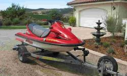 1998 Kawasaki JH1100ZXI Attractive condition - 150 hrs - includes galvanized trailer, cover, extra tire, life jackets $3,599.00 805-239-1045 .See item listed at http