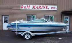 18' Searay Siville $3599 Bow rider 3.0L fuel economy Back to back seats with rear jump seats Functioning canvas top Single axle trailer DA3586