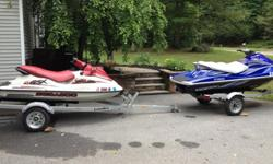 1999 Sea Doo GSX Low hours with brand new LoadRite Trailer, Great condition looking to buy bigger Ski, Comes with Matching cover and Owners/Repair Manuals