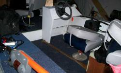 i have a real nice grumman for sale its a v-bottom has fish finder live well trolling engine has a 1995 30hp motor in superb shape just had it service last week just put a new propeller on today has new floor and carpet marine all new seats everything