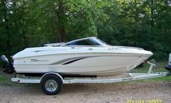 2000 chaparral 186 ssi with only 117 hrs. this boat is in excellent cond.the engine an outdrive is perfect.it has a 4.3 v6 mercruiser and a alpha 1 mercruiser outdrive.the interior and exrerior is in great condition. jvc stereo system w/remote. it has a