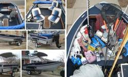 Reply to 719/632-3185 89 Sylvan sixteen Sea Monster, carpeted interior, beautiful condition, live well, excellent in floor and side storage, folding top, 3 seats that can be moved around in the boat, attractive condition with cover, always garaged. 1995