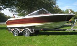 TOTALLY RESTORED, TO THE BARE HULL, 1977, BIG BLOCK, CENTURY ARABIAN, SKI, WAKE, PLEASURE CRAFT.RUNS LIKE A SWISS WATCH.ENGINE IS ORIGINAL GEN IV HI PERF 7.4L 454 MERCRUISER MIE 330 HP. THIS WAS A BALANCED AND BLUE PRINTED REBUILD. TORGUE PLATE BORED AND