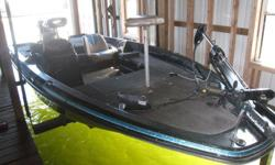 "17' 6"" Procraft Viper 180 with a Mariner 150 MAG III Engine. Upgraded 71 lb Thrust Motorguide Trolling Motor, 2 Fishfinders, Extra prop and folding seat. Boat runs great - floor worn but very useable. I am the second owner and have had the boat out of the"