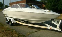 2005 MARIAH SX21 229 STILETTO SPECIAL EDITION OPEN BOW 21 FOOT LENGTH, 8 FOOT 6 INCH BEAM with a 5.0L MERCRUISER ALPHA ONE I/O with ONLY 36 HOURS!!!!! This boat has had light use and has been kept in good condition. This is a quality boat that is very