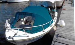 17 Ft Aqua Sport, 115 Hp Evinrude, New Top, New Batteries, VHF Radio, New Depth Sounder, New Starter, AM & FM radio, Electrical Shore Hook Up, Built in Charger, New Propeller, Runs Great, boat is in the water. Galvanized Trailer. I am upsizing call @
