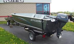 15' Sylvan with a 15hp Yamaha Great boat feel free to stop in any time between 8