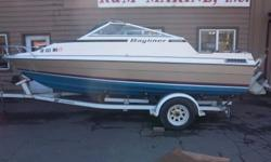 1982 Bayliner 19' Cuddy Don't you love it when you find a gem, hardly used and still newer looking? Me too! Here is a nice 1982 back when Bayliners were built right, this one has carpet that is not all scuffed up and upholstery that is not all broke down,