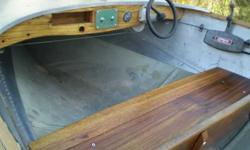 Early 50s redone Larson Crestliner. Fires right up. Mahogany seats and new gunnels. Making room for new projects.$400414.232.8145Listing originally posted at http