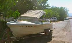 1968 Boat with Trailer current registation took out two weeks ago comes with a 6o Horse too currently a 40 orse Johnson Call for more information 435 272 6983 Shawn or Wendy ThanksListing originally posted at http