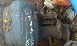 Hello I have a 1969 Evinrude 85 horsepower outboard engine forsale, runs great only thing is the Hydrolics it's stuck in forward. asking 400 or best offer, call or text 317-238-0938 also have an 1956 evinrude forsaleListing originally posted at http