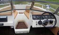Great Winter Project Fiber Glass and Propeller in attractive shapeBoat is CompleteNO TRAILER/NO TITLEElectronics all seem to workInterior complete but needs repairSat since 2009 mtr, now stuckWill trade for 35Hp outboardcontact Tom @ 763/350-8601Listing