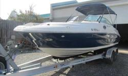 2007 Sea Ray 240 SUNDECK Don't miss this boat! The 2007 240 Sundeck is SeaRay's most popular day boat. It provides unparalleled comfort and ride. This boat outrides most larger boats and with the upgraded Mercruiser 350 MAG MPI the boat will comfortably