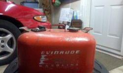 I have two 6 gallon Johnson/Evinrude Gas Tanks for sale. I would like 40.00 for both or 25.00 for one. If you have any question you can text or call me at 1-317-441-0087. ThanksListing originally posted at http