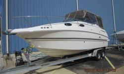 2005 Chaparral 260 SIGNATURE Inch for inch, the always popular 260 signature may be the most efficient in our 2005 lineup. This boats stands out with it's value, quality and versatility. You won't want to miss out on this amzaing boat. Call MarineMax Lake