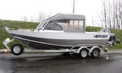 Powered by Yamaha F150TXR with 110 Hours. ?Length