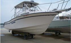 Type of Boat: Sport Fisher Walk AroundYear: 1995Make: Grady WhiteModel: 300 MarlinLength: 32Fuel Type: GasFuel: 300Water: 34Engine Model: 1998 twin 250 YamahaInboard / Outboard (Boat): Twin OutboardTotal Horse Power: 500Sleeps: 2Beam (Boat): 10.7Hull