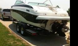 27 ft walk-thru bow. Yacht certified. Mini-sink and bath. 197 hours on Magnum 350. Always garaged. Extra nice. If interested, please contact Mike at (316) 215-4502