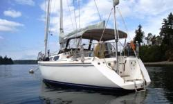 Beautiful and dependable, ready for cruising. Pullman berth with custom mattress. Hot and cold pressurized water, hurricane furnace, refrigerator. 3 staterooms, two heads, nice shower in forward head. Walk through transom with shower on the swim step. 6.5