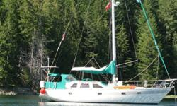 PRICE REDUCED!!! This is a Beautifully remodeled 1982 Cooper 416 Pilothouse Sloop Sailboat. Powered by a Perkins 4-108 43hp Diesel Engine Rebuilt head and top end with 200 amp alternator. Full electronics package including Furuno 25 mile range radar,
