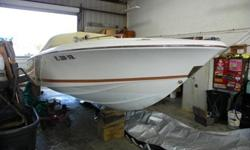 2007, 22' CHRIS-CRAFT LANCER 22 RUMBLE Single Gas 5.7L 250HP MerCruiser I/O with Bravo I Outdrive w/Stainless Steel PropAsking Price