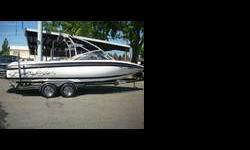 24 feet wakeboard boat in good condition inclueds Wakeboard Tower Wakeboard Racks Tower Speakers Stereo Sub & Amp Ballast System Bimini Top Full Custom Cover Heater Dual Batteries Tandem Axle Trailer Please call 253-852-5336 or email with any questions WE