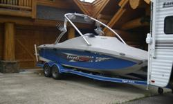 2007 Tige RZ2, Price Reduced! Will deliver up to 800 miles for free! With only 120 Hours this boat is like new! Marine Power 5.7L 340 HP, Dorsey tandem axle trailer with loading guides. Custom Removable swim platform, Wake board tower w/racks, Dual