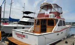 1978 44' Long Range Sport Fisher, truly the best designed and performing Sportfisher, with fresh Re-Build 8V-71(TI) Detroit Diesel engines, 50 hours since re-build, very low hours on 8KW Northern Lights Gen. Boat is in very good condition.Two staterooms &