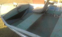 14ft aluminum boat. 1956 Sports Motor boat with evinrude motor and trailer. Everthing works, motor runs all the lamps work on the trailer. If you have any questions please call Darrell @ 541 580 6915 ThanksListing originally posted at http
