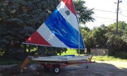 very nice sunfish, complete and ready to sail. had it posted for $750 bit I am looking for a quick sale to help with a vacation.