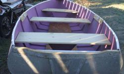 """""""Very Nice"""" 12 Foot Aluminum Boat. $450. Cash only please call 509-826-5226"""
