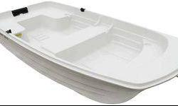 "Brand new Water Quest Row Boat solid white with polyethylene double hull material. Size 9'4"" 55inches wide. Retails for over $700, your for $450. Does not come with oars or oarlocks, those are additional $100. Email (click to respond) or call. Listing"