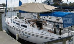 1984 Catalina 36' fiberglass tall-rig sloop. Located in New Orleans. Great condition. Rigged for Single-Handing & Ready to Cruise * Fore & Aft Cabins Sleep 6~8 ? Enclosed Head w/ Shower ? Full Galley * Fresh Water use only until 2007 * Dimensions