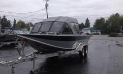 Purchased at the North River auction at the Clackamas location on 06/06/2009 - This boat has never been ran or registered - Basically this is a brand new 2008 Commander X with ZERO hours - Tonneau cover - Wash down pump - ETS transom - Two tone paint -