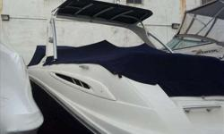 2006 Sea Ray 270 SELECT Very Clean Boat with only 155 Hours! Dark Blue Hull, 350 Magnum MPI, Sports Tower, Cockpit Refrigerator, VHF Radio, and a Vacuflush Head! Please call Capt. Rob Widak 203-258-4722 with any questions. For more information please call